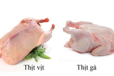 Ăn thịt gà hay thịt vịt tốt hơn?