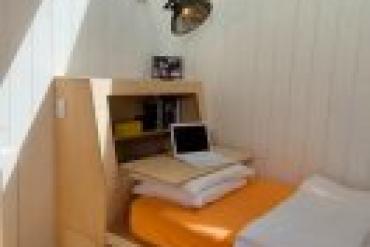 Những mẫu giường được thiết kế dành riêng cho phòng ngủ nhỏ hẹp