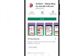 Tải ngay App Vndiaoc Đăng Tin Nhà Đất Miễn phí